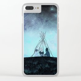 Melancholia Clear iPhone Case
