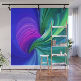 Twisting Forms #1 Wall Mural