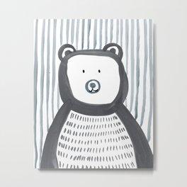 Mr.Bear Metal Print