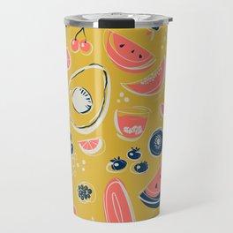 Summer Food Fiesta Travel Mug