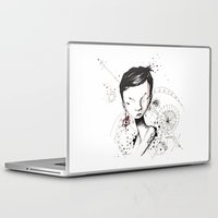 human Laptop & iPad Skins featuring Human by Ianah Maia