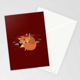 Renarde de Noël Stationery Cards