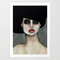 three of the possessed Art Prints featuring Possessed by Lisa Kelsall