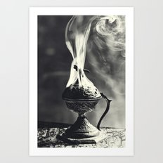 Ritual, B&W Version Art Print