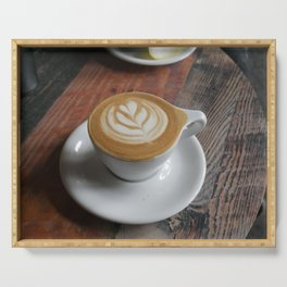 Latte with Love Serving Tray