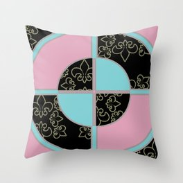 BullsEye: Emblem Throw Pillow