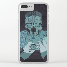 DH: Mask Clear iPhone Case