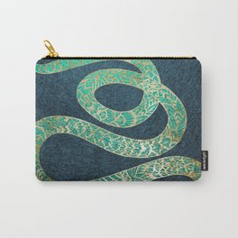 Golden emerald watersnake Carry-All Pouch