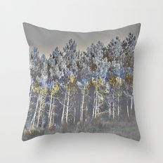 barrage (back to unnatural) Throw Pillow