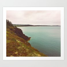 Wild Nova Scotia Art Print