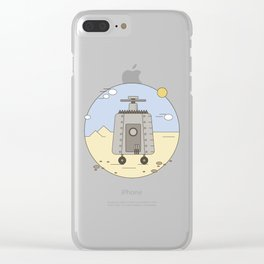 Pepelats. Russian science fiction. Clear iPhone Case