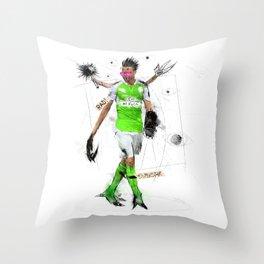 Rad Superstar Throw Pillow