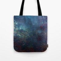 aqua Tote Bags featuring aqua by Vita♥G