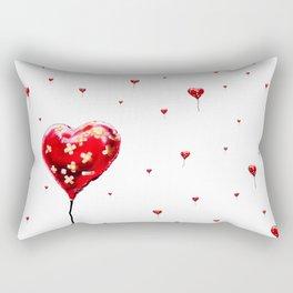 Broken Heart Rectangular Pillow