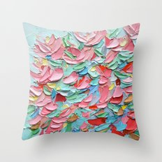 Arboretum Afternoon Throw Pillow