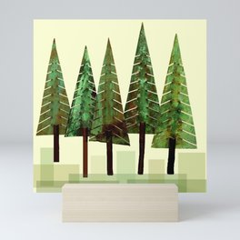 Fir Trees Mini Art Print
