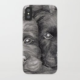 Flat Coat Retrievers iPhone Case