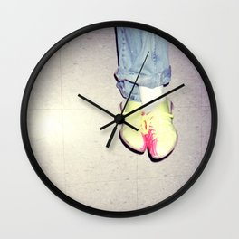 bowling shoes Wall Clock
