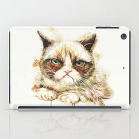 nope iPad Cases featuring Nope by beart24