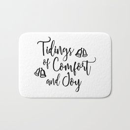 Tidings of Comfort and Joy Bath Mat