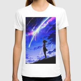 """Kimi No Na Wa """"Your Name"""" v1 T-shirt"""