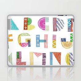 Carve December 2016 Alphabet Laptop & iPad Skin