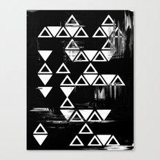 Geometric art print Canvas Print