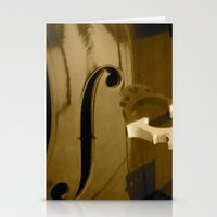 cello Stationery Cards featuring Cello by CC McAlister