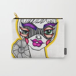JennyMannoArt Colored Illustration/Sassy Sally Carry-All Pouch