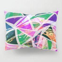 Pattern marbles Pillow Sham