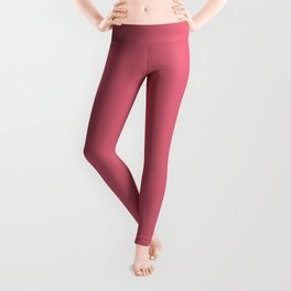 Color Trends 2017 Classic Nantucket Red Leggings