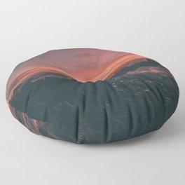 California Sunset II Floor Pillow
