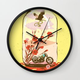 FLOWER JUG Wall Clock