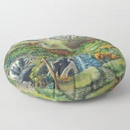 Prelude To Powys Floor Pillow