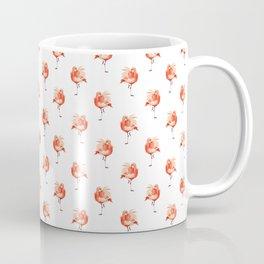 Feathery Friend Pattern Coffee Mug