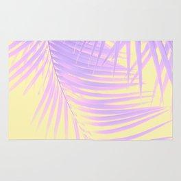 Palm Leaves Summer Vibes #2 #tropical #decor #art #society6 Rug