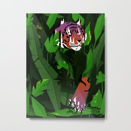 Wildfire in the jungle Metal Print