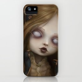 The face of all your fears iPhone Case