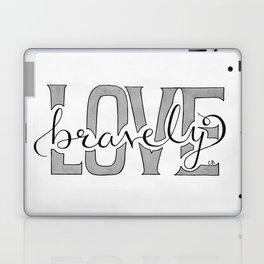 Love Bravely Laptop & iPad Skin