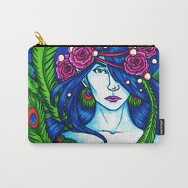 Peacock Fairy Carry-All Pouch