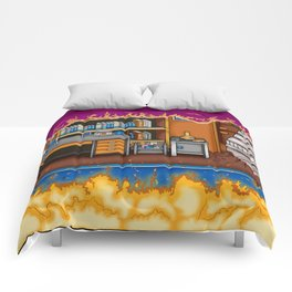 Arcade Slice Comforters