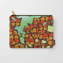 Monarch butterflies Carry-All Pouch