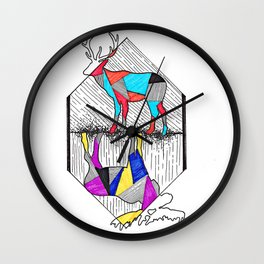 A wounded deer leaps the highest Wall Clock