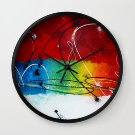 Welcome happiness Wall Clock