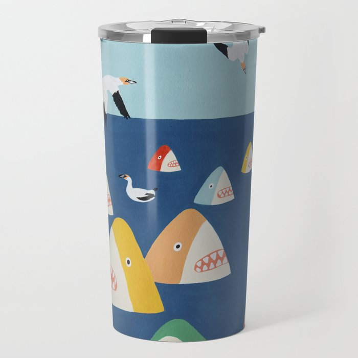 Shark Park Travel Mug