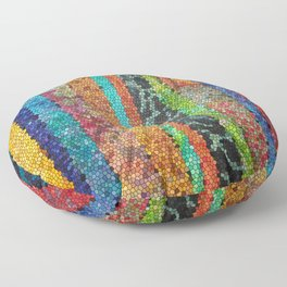 The Jewels of the Nile Floor Pillow