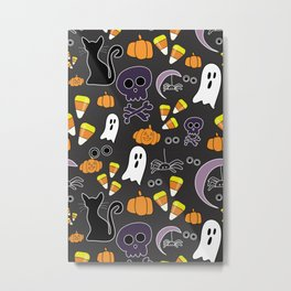 Halloween party Metal Print