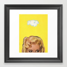Partly Sunny Framed Art Print