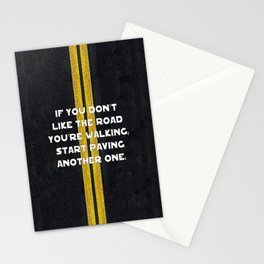 Pave Another Road Stationery Cards