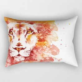PRIDE (Water colour Lion) Rectangular Pillow